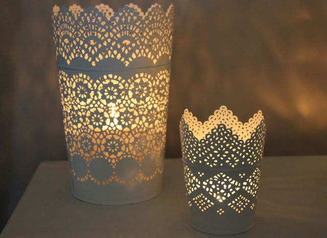 Time to get cosy with my Ikea candle holders