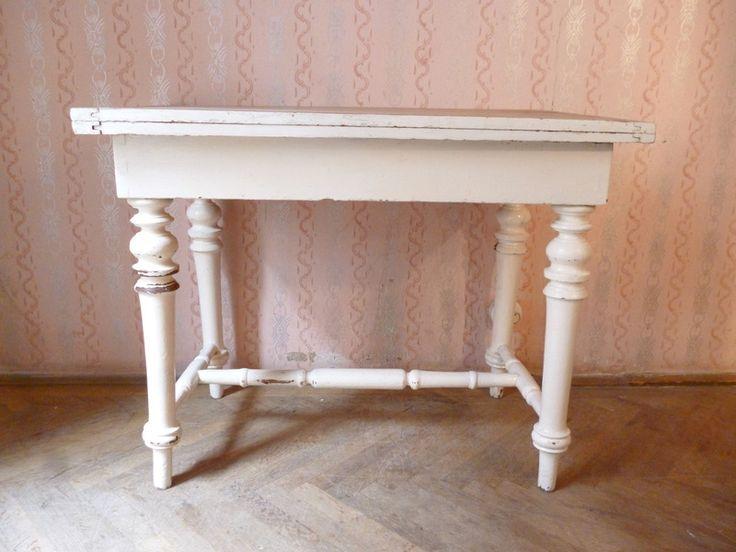 Kchentisch Tisch Antik Grnderzeit Shabby Chic Von OllandaLavendel Auf DaWanda
