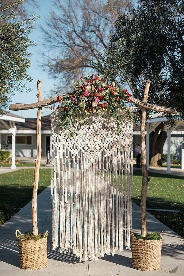 40 Boho Chic Outdoor Wedding Ideas – Page 3 of 5 – Wedding 4.o