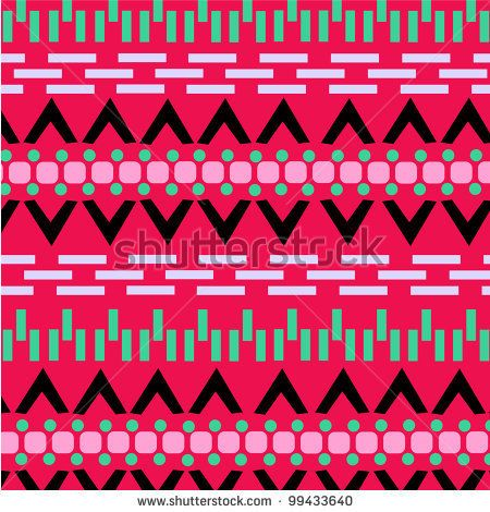 Aztec patterns | Aztec Pattern Stock Vector 99433640 : Shutterstock