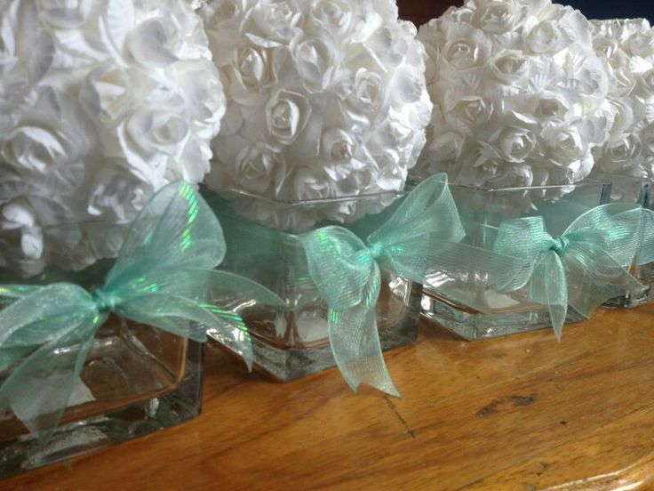 Centros de mesa con base de vidrio ideas para tu evento pinterest mesas - Mesas de centro de vidrio ...