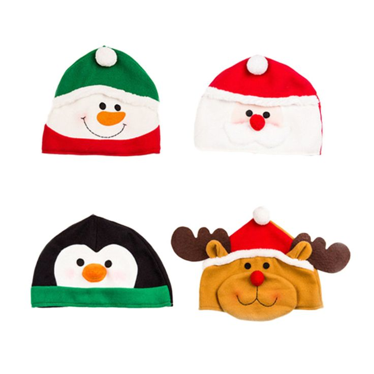 Find More Christmas Hats Information about Hot Sale Santa Claus Hat Christmas Xmas Holiday Snowman Penguin Reindeer Christams Cap Festival Decoration Wholesale,High Quality decorative decorative,China decoration festives Suppliers, Cheap decorative caps from WK HomeTextiles Store on Aliexpress.com