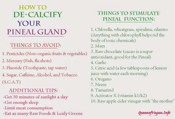 Foods That Decalcify Pineal Gland | The Pineal Gland Diet: How to Decalcify Your Pineal Gland