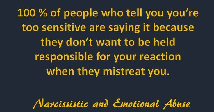 how to tell if you are a sensitive