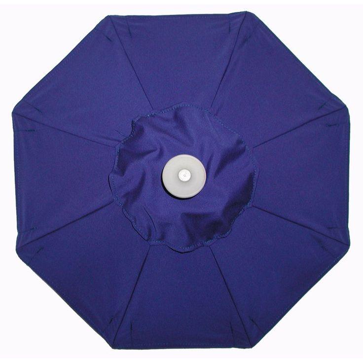 Superior Aluminum Auto Tilt Sunbrella Patio Umbrella With Umbrella Lights Sunbrella  True