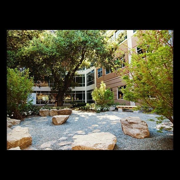 Healing Garden At A Mountain View Clinic. Meditation GardenLandscape DesignYard  ...
