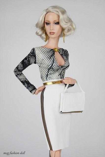 New outfit for Sybarite / FR16 / Fashion Royalty16 / FR | por meg fashion doll