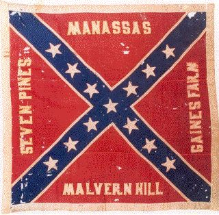 2nd Mississippi Battle Flag... This is the unit my great-great-great grandfather Isaiah fought with!