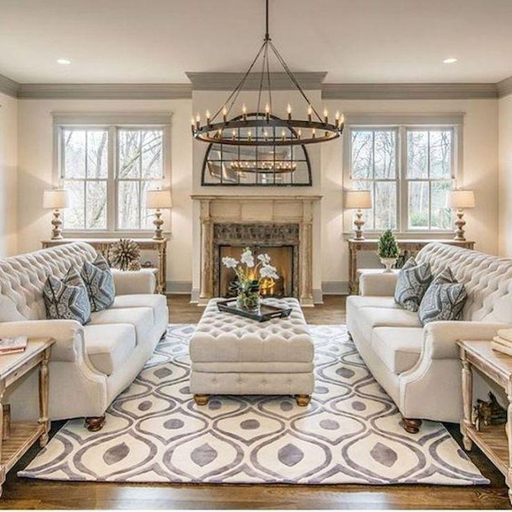 30 Elegant Farmhouse Living Room Decor Ideas