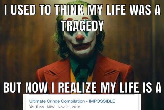 Pin By Taryn Merten On Memy Tragedy Joker Meme Old Joker
