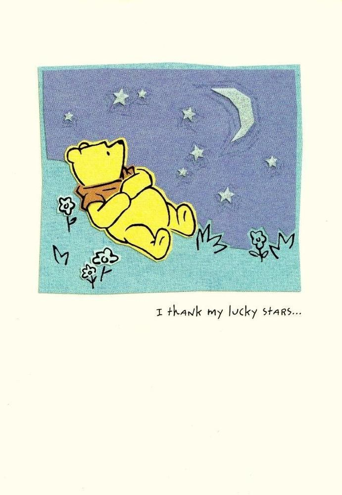 Hallmark Classic Pooh Birthday Greeting Card For Sister