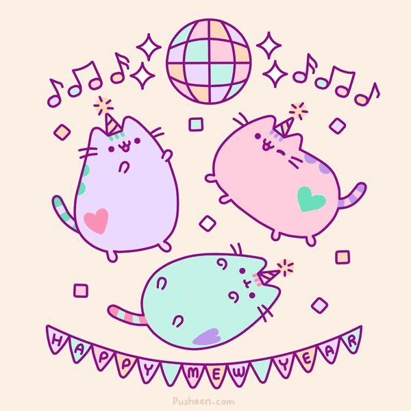 Pusheen Dance Party