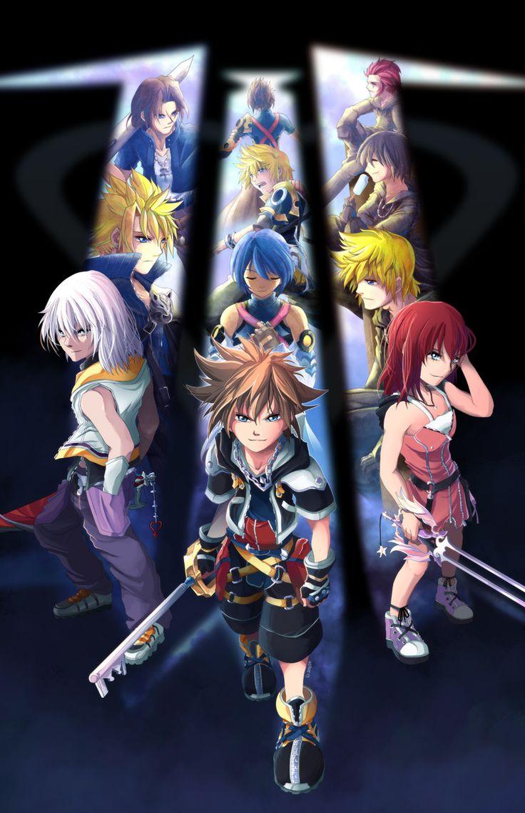 Kingdom Hearts Three by suzuran.deviantart.com on @deviantART