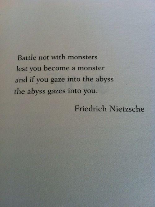 Citation Nietzsche Monstre : Friedrich nietzsche wikipedia