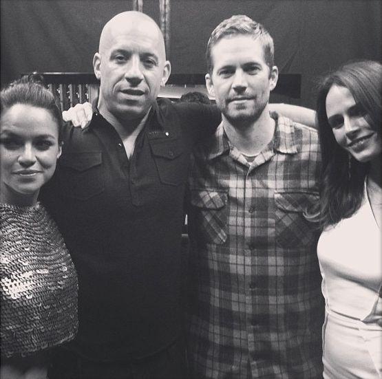 "jordanasampson: "" Michelle Rodriguez, Vin Diesel, Paul Walker and Jordana Brewster - MTV Movie Awards. """