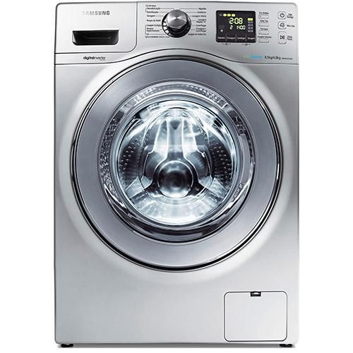Lavadora e Secadora Samsung Siene WD856 8.5Kg Prata