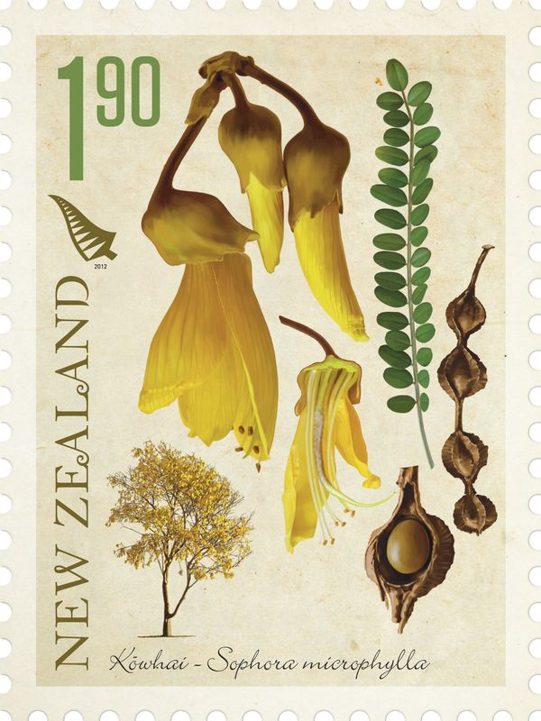 NZ Native Trees Stamp Issue