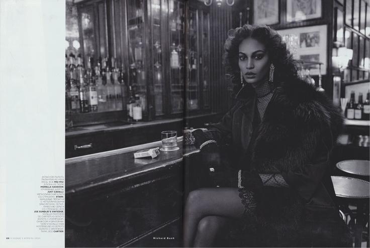 Stark in Vogue Russia