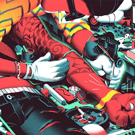 Illustration – Nicolas Dehghani