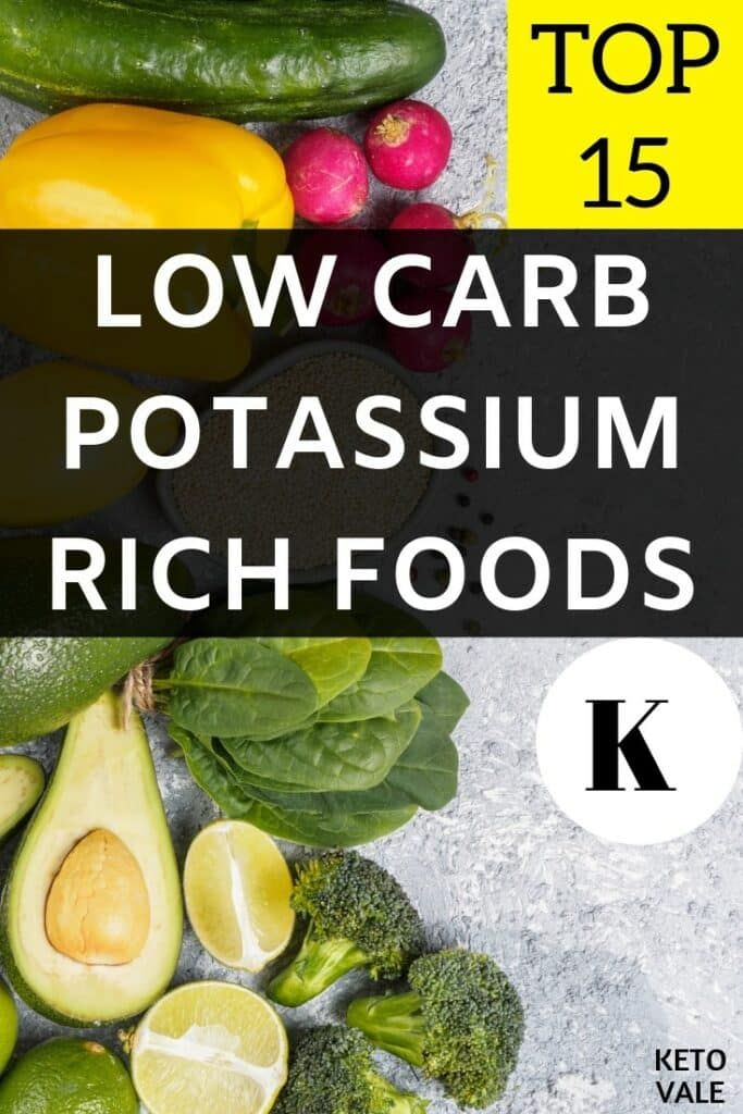 best sources of potassium for keto diet