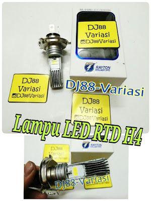 Lampu utama LED H4 vixion old new vixion cb150 cbr 150 k45 cbr k45g byson mega pro new RTD