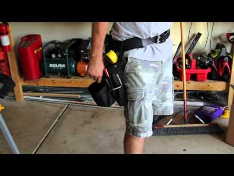 Milwaukee Tool Belt 49-17-0195 - Review.  Hiding Dan's 20V Impact