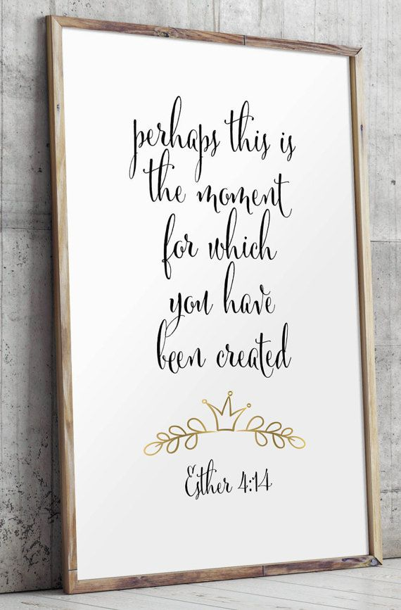 Bible verse printable scripture art Christian by TwoBrushesDesigns
