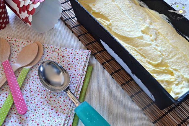 Deliciosa receta de helado cremoso de mango casero de Disfrutando de la Cocina