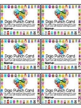 EDITABLE Class Dojo Coupon Catalog