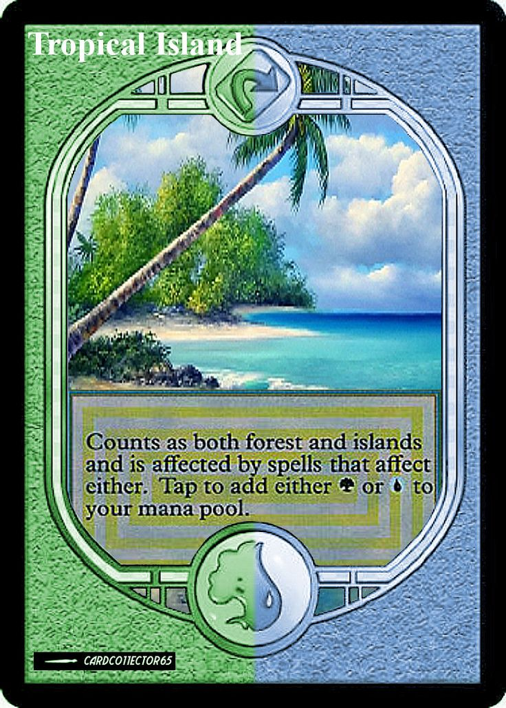 Tropical Island - MTG