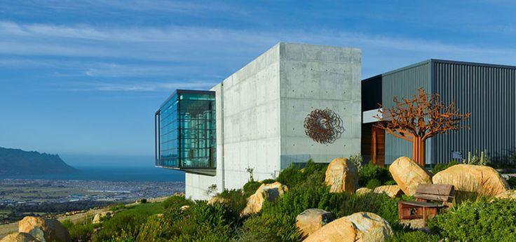 Waterkloof Wine Estate in Stellenbosch, South Africa