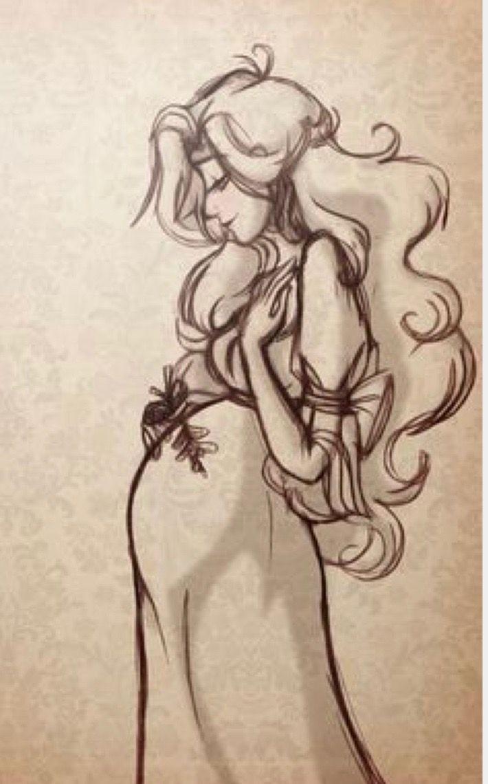Pin De Nami En Da Arte De Embarazo Mujer Embarazada Dibujo Embarazo Dibujo