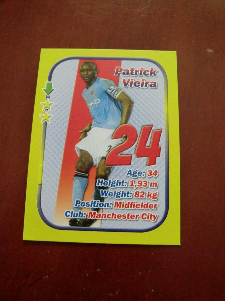 PATRICK VIEIRA Manchester City Arsenal Juventus #NN 2010 STARS 3x1 Aquarius   eBay