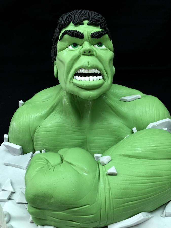 The Incredible Hulk by Galatia
