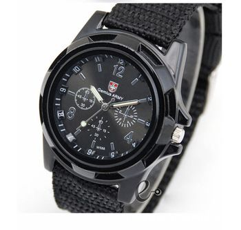 17 best images about mens watches fashion watches new fashion ier military quartz canvas strap fabric watch men outdoor sports watches for male casual