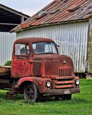 old international trucks | International Farm Truck - Country Roads Photo by Lyle Canterbury Old ...