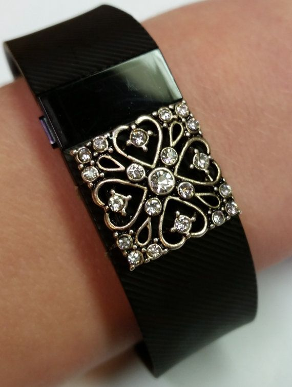 Fitness Band Bling Accessory for Fitbit Flex or by FitbitBling ..... just ordered one!  Can't wait to dress up by Fitbit!  Got my bling and it is great!  Almost makes me forget what I'm wearing is a tracker.  Fab idea!