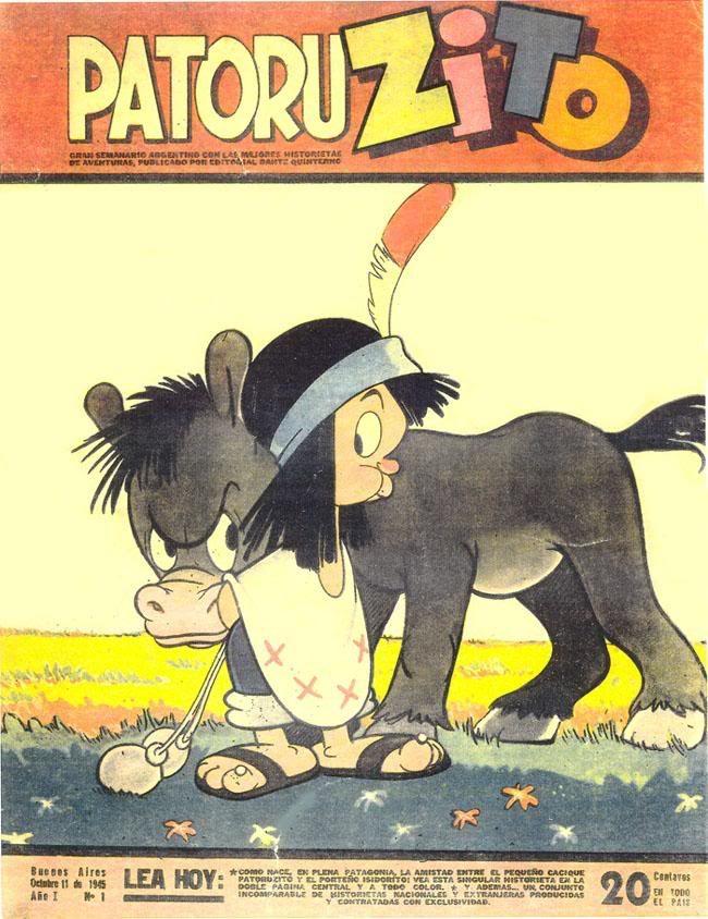 Revista Patoruzito: primera portada (año 1.945).-