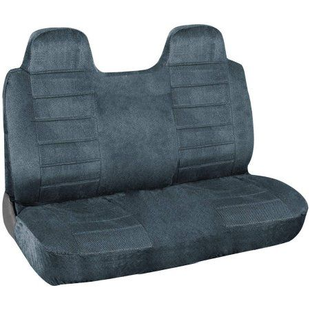BDK Pick Up Truck Seat Covers, Solid Front Seat Cover, Black