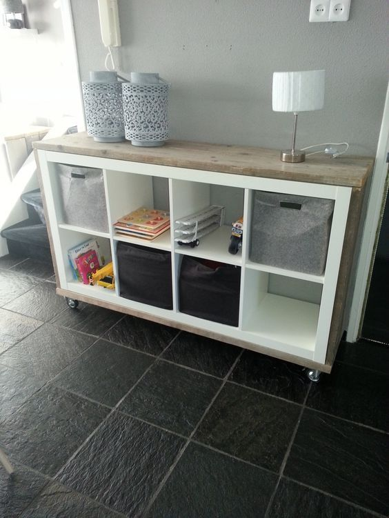 25 best ideas about ikea kallax hack auf pinterest - Ikea kallax flur ...