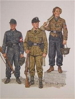 Uniformi ausiliari di polizia tedesca - pin by Paolo Marzioli