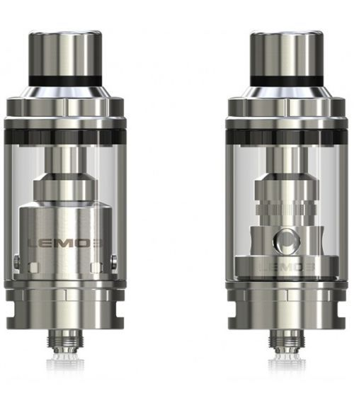 Eleaf Lemo 3 Tank Atomizer with RTA Base - 4.0ml features top filling, 4mL eJuice capacity. Moreover, it can either be used with replaceable atomizer head or used with pre-made or self-built coil as RTA for DIY fun.