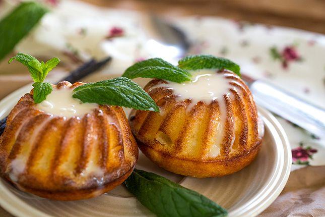 Красивые сырнички без муки в формочках в духовке