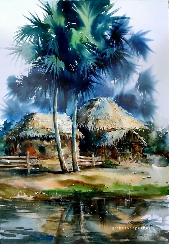 Pin By Bernadette Brouard On Peintures Watercolor Paintings