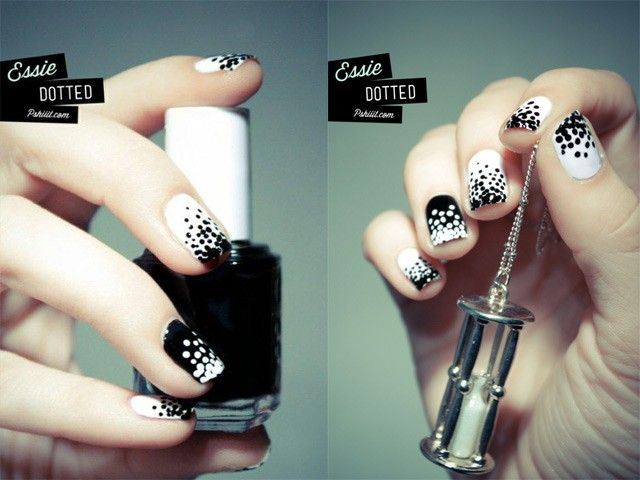 The 25 best dot nail art ideas on pinterest dot nail designs ten best polka dot nail art designs all the different color possibilities prinsesfo Image collections