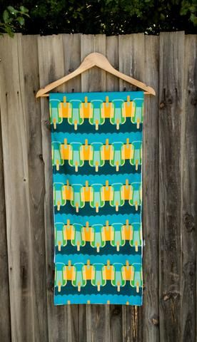 Table runner cool pops popsicle design by olioko