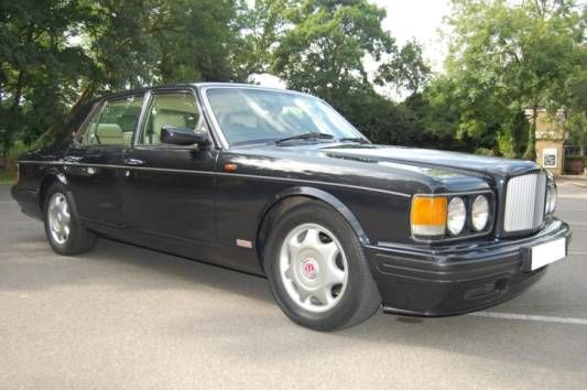 Used 1996 ( reg) Black Bentley Turbo R 4dr for sale on RAC Cars