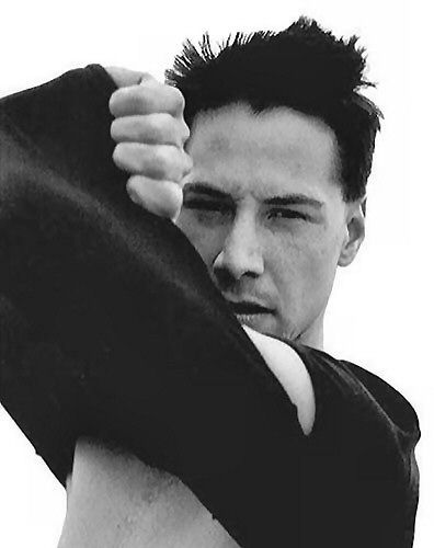 keanu - debates about his talent are irrelevant to me. he just is.