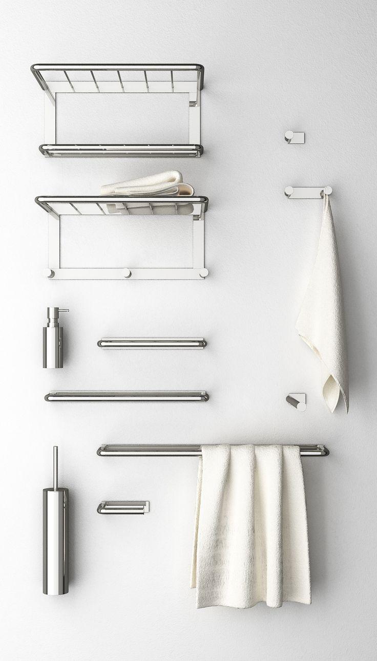 Pi di 25 fantastiche idee su ganci per bagno su pinterest for Portasalviette di carta da bagno