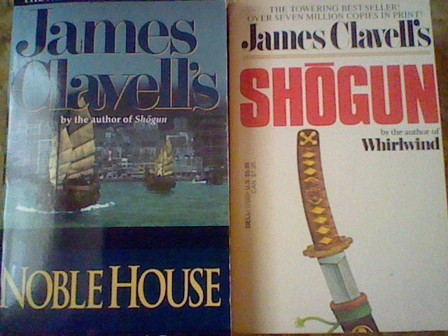 Shogun & Noble House by James Clavell ,2 paperback lot =)